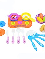 Toy Kitchen Sets Toy Foods Plastics ABS Girls' Boys