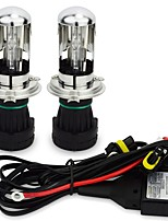 12V 55W H4 Bixenon 3000K 4300K 6000K 8000K 10000K H4 HID Bulb(Relay Cable Kit Included)