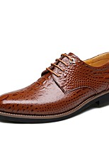 IMBETTUY Men's Fashion Business Genuine/Real Leather Oxfords Shoes
