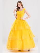 Una Sola Pieza/Vestidos Princesas Reina Cosplay de películas  Halloween Carnaval Año Nuevo Mujer Tul