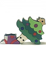 1gb natal usb flash drive cartoon criativo natal árvore natal presente usb 2.0