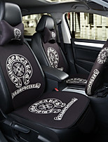 Chrome Hearts Car Seat Cushion Seat Cover Seat Four Seasons General Surrounded By A Five Seat Headrest With 2 Wheel Sets