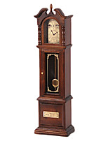 Music Box Clock Wooden