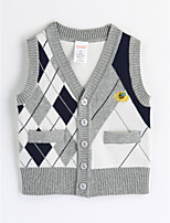 Boys' Check Tank & Cami,Cotton Fall Sleeveless