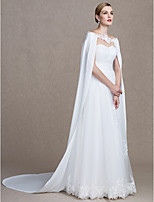 Women's Wrap Capes Chiffon Wedding Party/ Evening