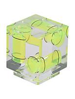 andoer 3 ejes 3 dimensiones cámara espíritu burbuja nivel equilibrio calzado zapato montaje para canon nikon panosónico olympus sony mi