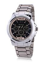 Муж. Нарядные часы Модные часы Наручные часы Китайский Кварцевый Имитация Алмазный сплав Группа С подвесками Повседневная Элегантные часы