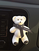 автомобиль воздух выход решетка духи черный лента милый большой медведь встреча аромат океан аромат автомобильный очиститель воздуха