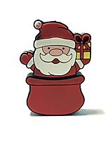 1gb christmas usb flash drive cartoon creative santa claus christmas gift usb 2.0