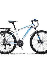Горный велосипед Велоспорт 27 Скорость 26 дюймы/700CC Shimano Дисковый тормоз Передняя вилка с амортизацией Противозаносный Aluminum