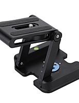 andoer z-shaped en alliage d'aluminium caméra pêchable caméscope support de bureau tête de basculement à plaque de dégagement rapide pour