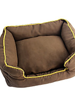 Dog Bed Pet Mats & Pads Solid Coffee Gray