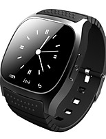 smartwatch m26 bluetooth smart watch avec led alitmeter musicplayer podomètre ios téléphone intelligent Android