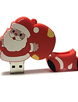 64gb natal usb flash drive cartoon criativo santa claus presente de natal usb 2.0