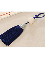sac / téléphone / porte-clés charme cristal / strass style gland cristal polyester métal 13.5cm