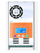mppt 30a cargador solar y regulador de descarga 12v 24v 36v 48v auto para máxima entrada 190vdc sellado sellado gel nicd li