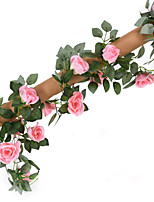 1 Branch Silk Roses Artificial Flowers