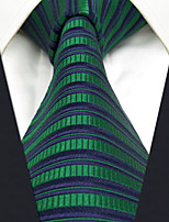 Men's Silk Neck Tie,Vintage Cute Party Work Casual Striped All Seasons