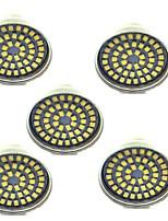 3W Spot LED 48 SMD 2835 500 lm Blanc Chaud Blanc Froid Décorative AC 12 V 5 pièces GU10