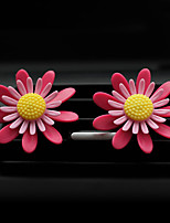 Car Air Outlet Grille Perfume  Peaches   Lavender   Sunflower   Wild ginger incense   Automotive Air Purifier