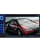 Car Radio Audio 2 Din 6.2'' Inch LCD Touch Screen Multimedia Video DVD Player Bluetooth