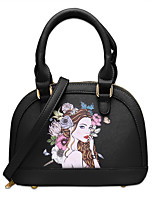 Women Bags All Seasons PU Shoulder Bag with for Casual Office & Career Black Blushing Pink Gray