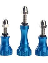 tornillo de acero inoxidable perno tornillo de acero inoxidable para gopro hd héroe 1/2/3/3/4 st-50 azul