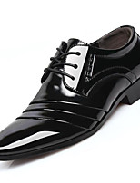 Men's Shoes Microfibre Spring Summer Fall Winter Formal Shoes Oxfords Rivet For Casual Outdoor Office & Career Black