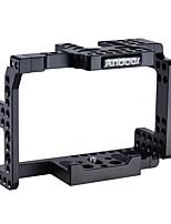 jaula de la cámara de la aleación de aluminio del andoer para Sony a7ii a7rii a7sii cámaras del ildc