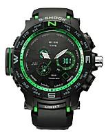 Муж. Спортивные часы Смарт-часы Наручные часы электронные часы Swiss Цифровой LED Календарь Секундомер Защита от влаги С двумя часовыми