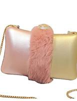 Women Shoulder Bag PU All Seasons Blushing Pink Black