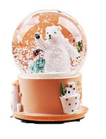 Balls Music Box Toys Round Cartoon Not Specified 1 Pieces