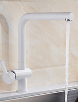 Contemporary Standard Spout Vessel Rotatable with  Ceramic Valve Other , Kitchen faucet