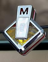Pare-choc de la grille de sortie d'air de voiture Citron Ocean Lavender Purificateur d'air automobile