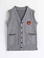 Boys' Solid Tank & Cami,Cotton Fall Sleeveless