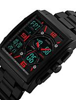 Муж. Жен. Спортивные часы Армейские часы Наручные часы электронные часы Японский Кварцевый LED Календарь Секундомер Защита от влаги С