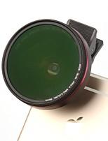 Lentilles de caméra ktele smartphone Objectif grand angle 0.6x Lentille macro 12.5x cpl pour ipad iphone huawei xiaomi samsung