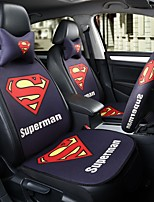 Superman Car Seat Cushion Seat Cover Seat Four Seasons General Surrounded By A Five Seat Headrest With 2 Wheel Sets