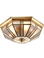 40 azulejos europa tipo lámparas y linternas se contrae para absorber luz de cúpula plena lámpara de cobre sala de estar dormitorio