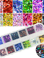 Glitter Art Deco/Retro Sequins 3-D Flash DIY Supplies Nail Salon Tool Hand Rests