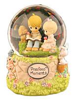 Balls Music Box Toys Round Cartoon Children's Female 1 Pieces