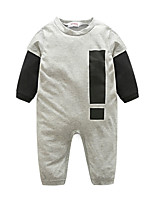 Baby Others One-Pieces,100%Cotton Autumn/Fall Long Sleeve