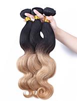 Омбре Малазийские волосы Естественные кудри 12 месяцев 3 волосы ткет кг Пряди с быстрым креплением