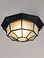 luz impermeable al aire libre de la bóveda lámpara impermeable lámpara al aire libre del balcón lámpara del patio puerta corredor de la