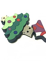 32gb christmas usb flash drive dessin animé christmas tree christmas gift usb 2.0