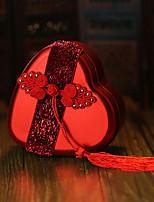 6 Фавор держатель-В форме сердца Металл Коробочки Горшки и банки для конфет Подарочные коробки