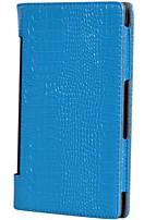 для lenovo yoga tab3 850m / yt3-850 роскошный чехол из крокодиловой кожи с подставкой флип полный корпус корпус сплошной цвет мягкая кожа