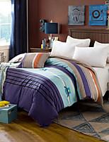 Stripe Comforter Material 1pc Duvet Cover