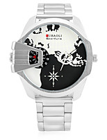 JUBAOLI Муж. Спортивные часы Модные часы Наручные часы Китайский Кварцевый Календарь С двумя часовыми поясами Крупный циферблат