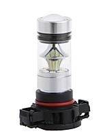 2шт супер яркий h16 100w 8000lm вел противотуманную фару h16 вел туманную лампу белый